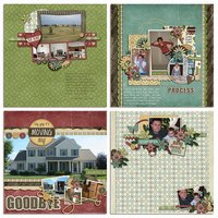 Happy Homebody Digital Scrapbooking Collab Kit Moving House Neighbors