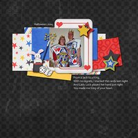 Tricky Tricky Digital Scrapbooking Collab Kit Halloween Trick or Treat