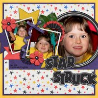 Tricky Tricky Digital Scrapbooking Templates Halloween Trick or Treat