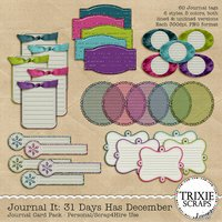31 Days Has December Digital Scrapbooking Journal It