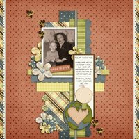 Adoption Day Digital Scrapbooking Kit Family Heritage