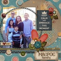 Best Year Ever Digital Scrapbooking Kit Family Friends