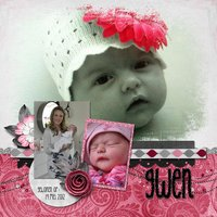 Blend with Me vol 2 Digital Scrapbooking Templates PSD/TIF/PAGE