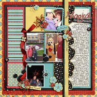 Block It Out vol 1 Digital Scrapbooking Templates PSD/TIF/PAGE