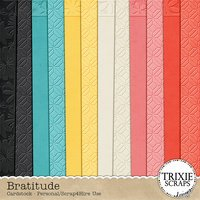 Bratitude Digital Scrapbook Cardstock