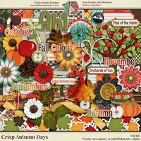 Crisp Autumn Days Digital Scrapbooking Kit