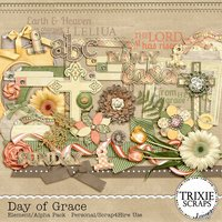Day of Grace Digital Scrapbooking Full Kit Jesus Christian