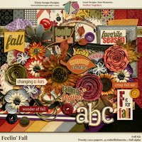 Feelin' Fall Digital Scrapbooking Kit