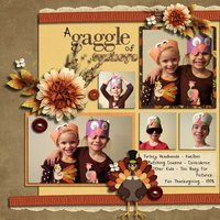 The First Thanksgiving Digital Scrapbooking Kit