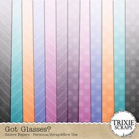 Got Glasses? Digital Scrapbooking Bonus Ombre Papers