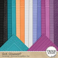 Got Glasses? Digital Scrapbooking Cardstock