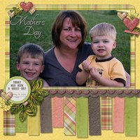 Large & In Charge vol 2 Digital Scrapbooking Templates PSD/TIF/PAGE