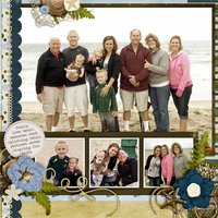 Large & In Charge vol 3 Digital Scrapbooking Templates PSD/TIF/PAGE
