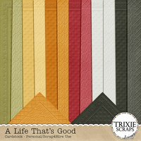 A Life That's Good Digital Scrapbooking Cardstock