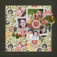A Life That's Good Digital Scrapbooking Full Kit Family Friends