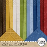 Love in the Garden Digital Scrapbooking Cardstock