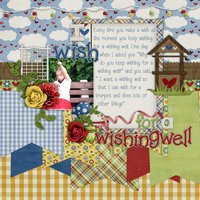 Love in the Garden Digital Scrapbooking Full Kit Gnomes Frogs