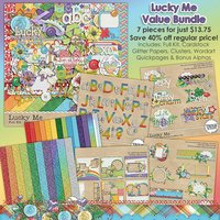 Lucky Me Digital Scrapbooking Value Bundle