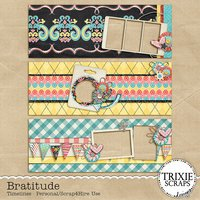 Bratitude Digital Scrapbook Facebook Timeline Covers