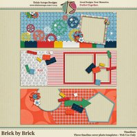 Brick by Brick Digital Scrapbooking Timelines