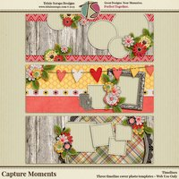 Capture Moments Digital Scrapbooking Timelines