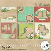 Dye Job Digital Scrapbooking Quickpages Easter