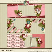 Ewe Loves Ya? Digital Scrapbooking Timelines - Valentine's Day Love