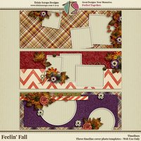 Feelin' Fall Digital Scrapbooking Timelines