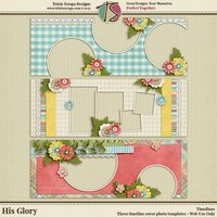 His Glory Digital Scrapbooking Timelines - Easter Faith Religious