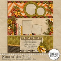 King of the Pride Digital Scrapbooking Facebook Timelines Disney