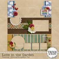 Love in the Garden Digital Scrapbooking Facebook Timeline Covers
