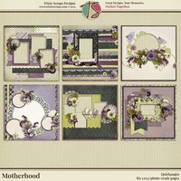 Motherhood Digital Scrapbooking Quickpages
