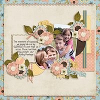 One Happy Day Digital Scrapbooking Quickpages