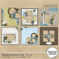 Remembering You Digital Scrapbooking Quickpages