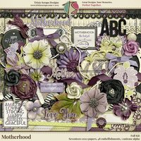 Motherhood Digital Scrapbooking Kit