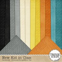 New Kid in Class Digital Scrapbooking Cardstock