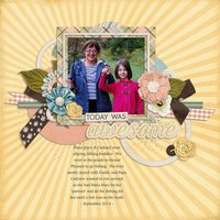 One Happy Day Digital Scrapbooking Kit