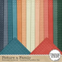 Picture a Family Digital Scrapbooking Cardstock