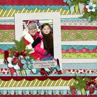 Presents Everywhere Digital Scrapbooking Full Kit Christmas