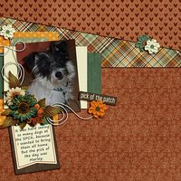 Pumpkin Spice Digital Scrapbooking Kit