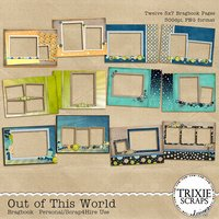 Out of This World Digital Scrapbooking Bragbook Disney