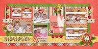 Seeing Double vol 16 Digital Scrapbooking Template Pack