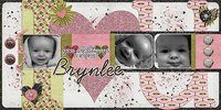 Seeing Double volume 8 Digital Scrapbooking Templates PSD/TIF/PAGE