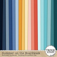 Summer on the Boardwalk Digital Scrapbooking Cardstock