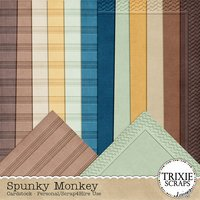 Spunky Monkey Digital Scrapbooking Cardstock