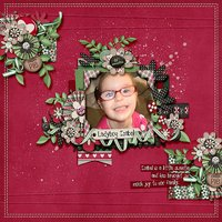 Standing Alone vol 6 Digital Scrapbooking Template Pack
