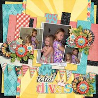 What's Your Angle vol 2 Digital Scrapbooking Templates PSD/TIF/PAGE