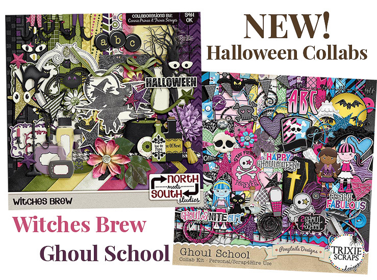 Two new Halloween collabs on sale now! New Freebies, too!