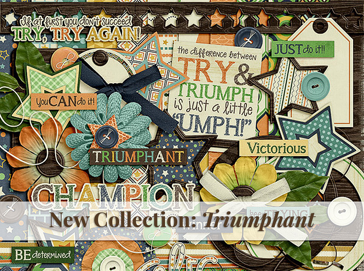 October Gotta Grab It sale – new Triumphant collection & freebie!!