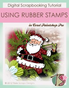 How To Use Rubber Stamps In Corel Paintshop Pro